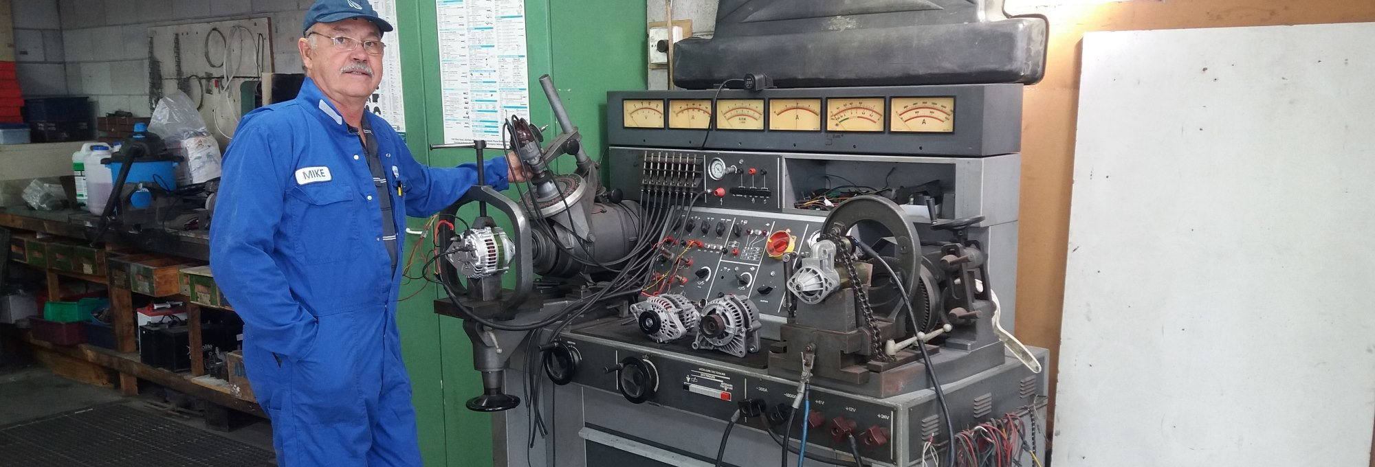 Got alternator or starter motor problems? Mike Barlow Auto Electrical can help